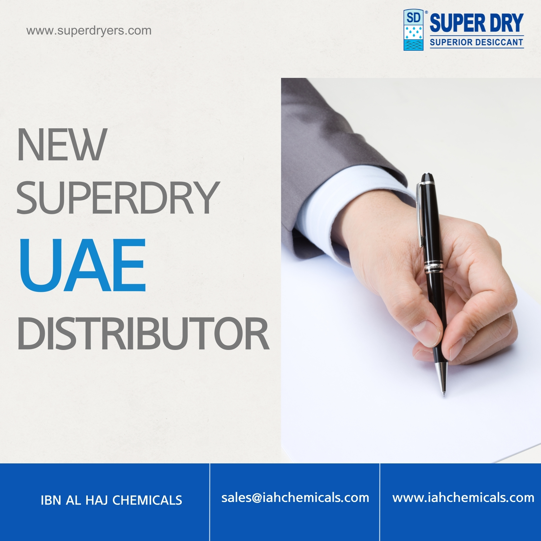 #New distributors UAE