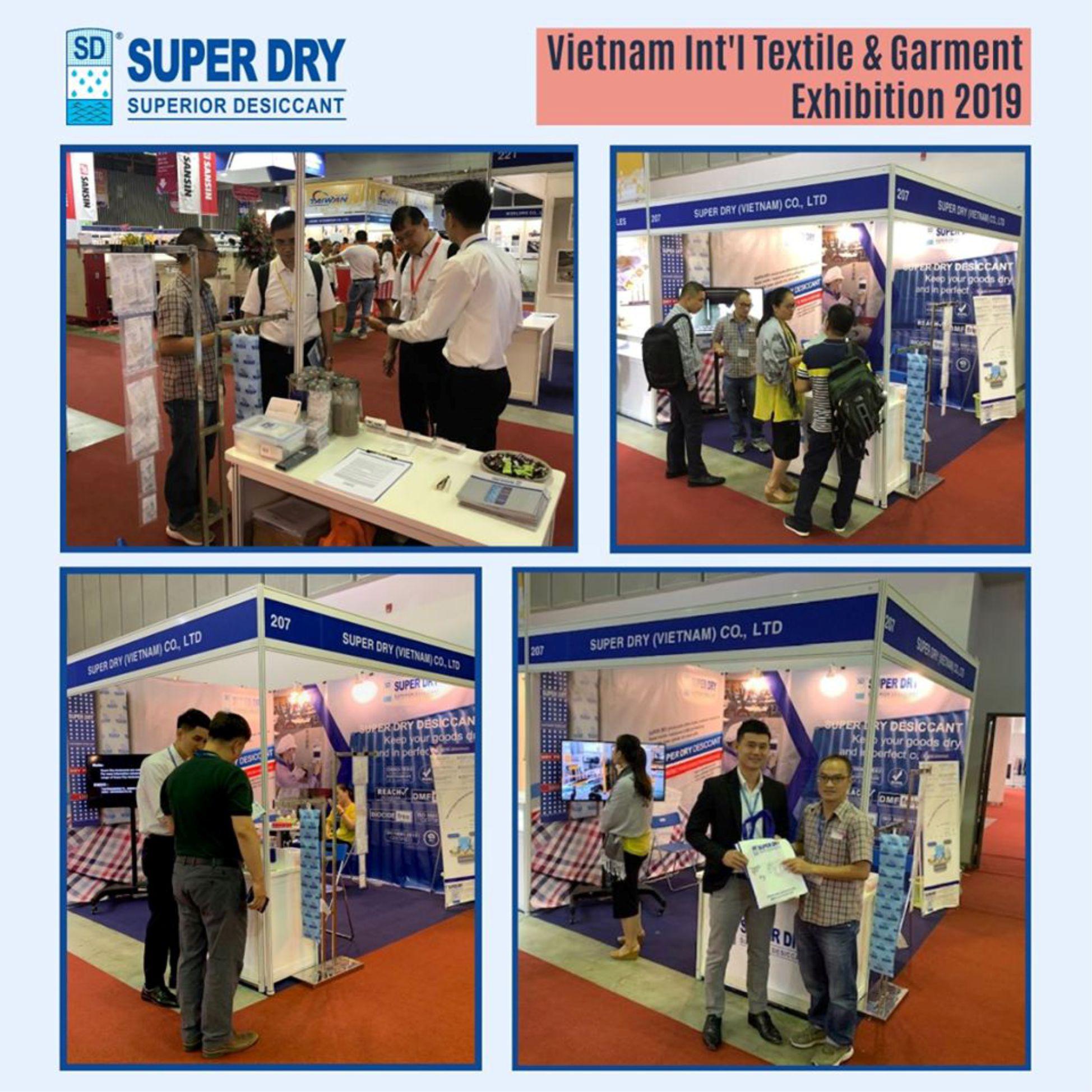 #VTG - Vietnam Int`l Textile & Garment Exhibition 2019